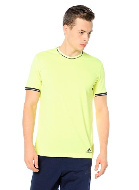 adidas Bisiklet Yaka Tişört Renkli